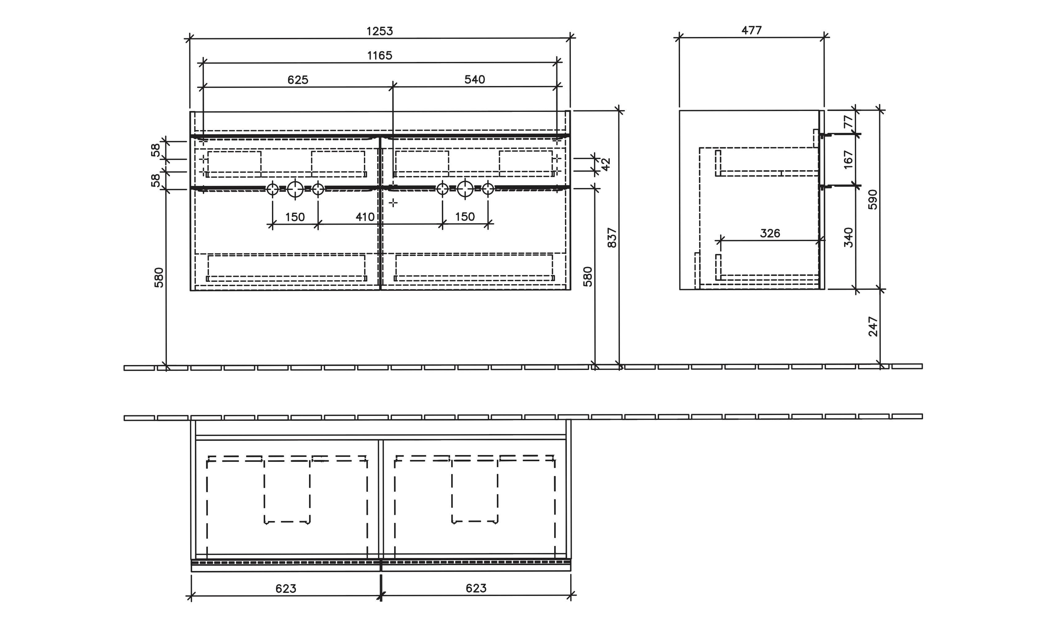 Venticello Cabinet 1253