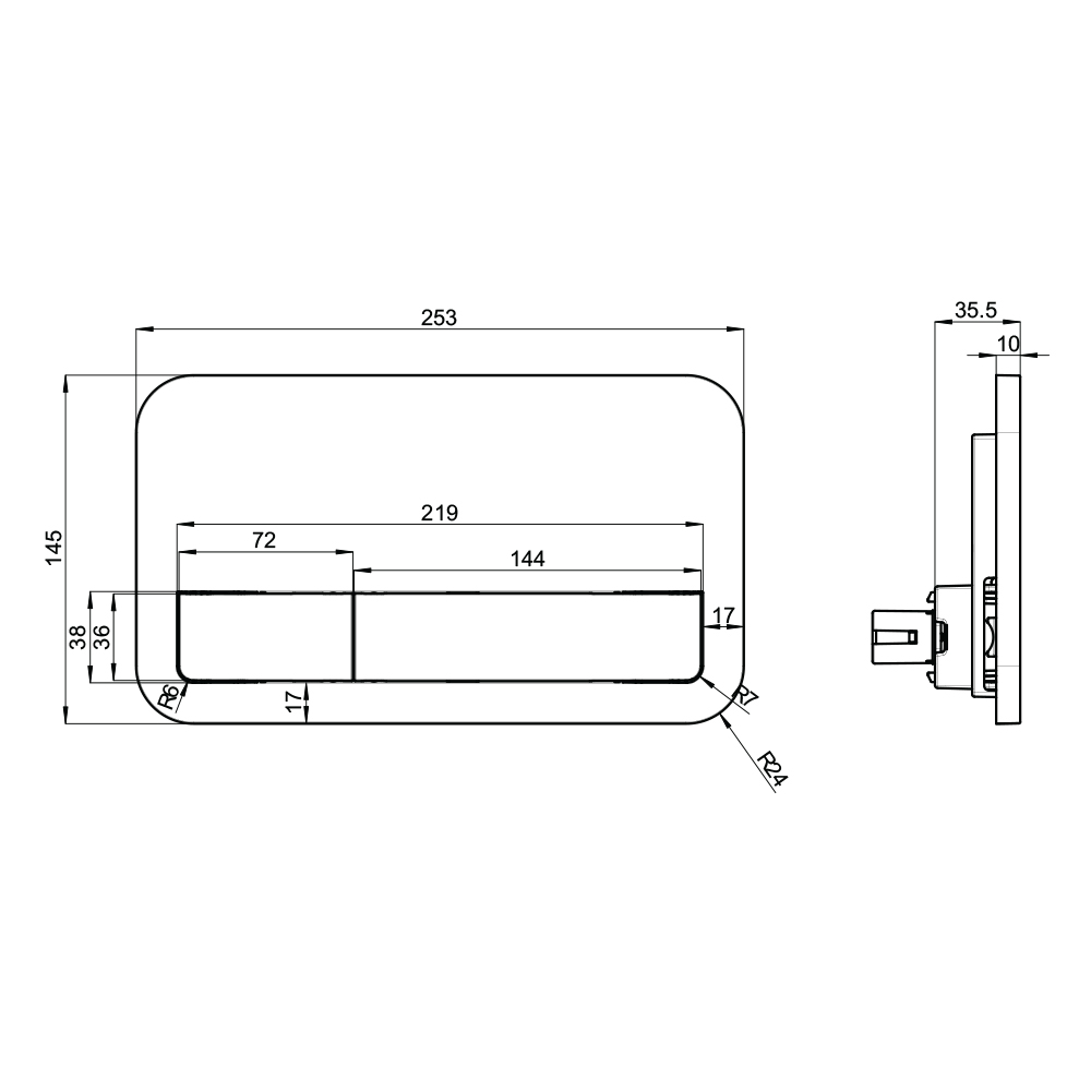 Viconnect E200 Flushplate