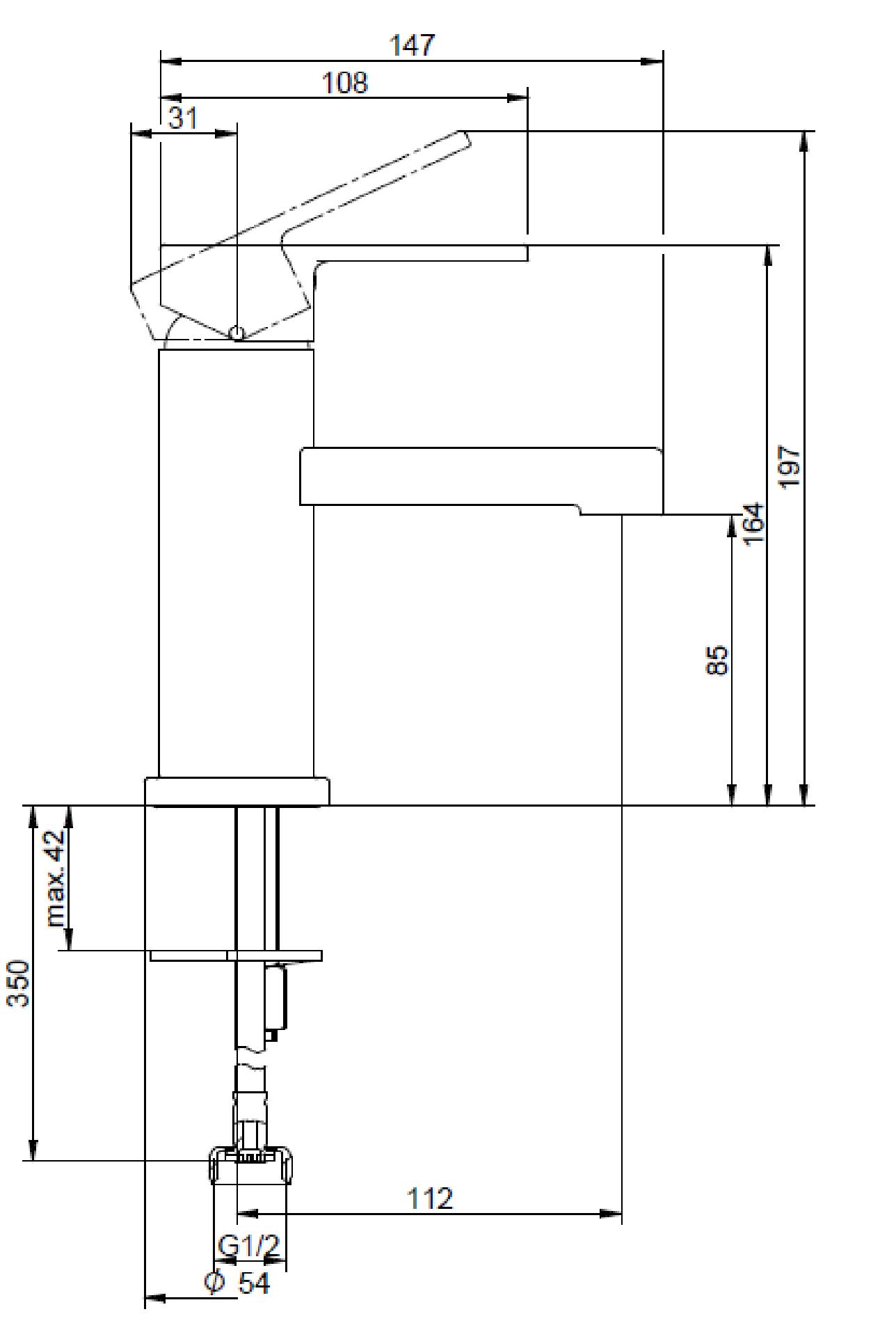 Architectura Basin Mixer