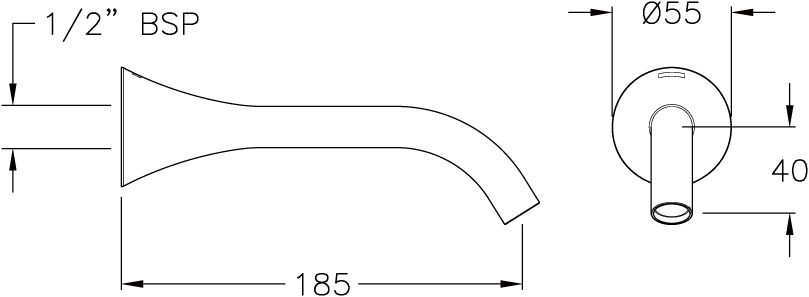 Flite Basin Spout
