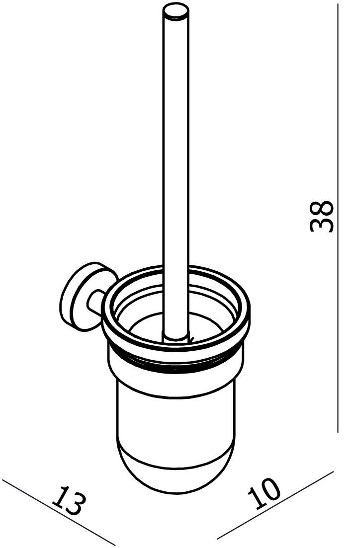Focus Toilet Brush Set