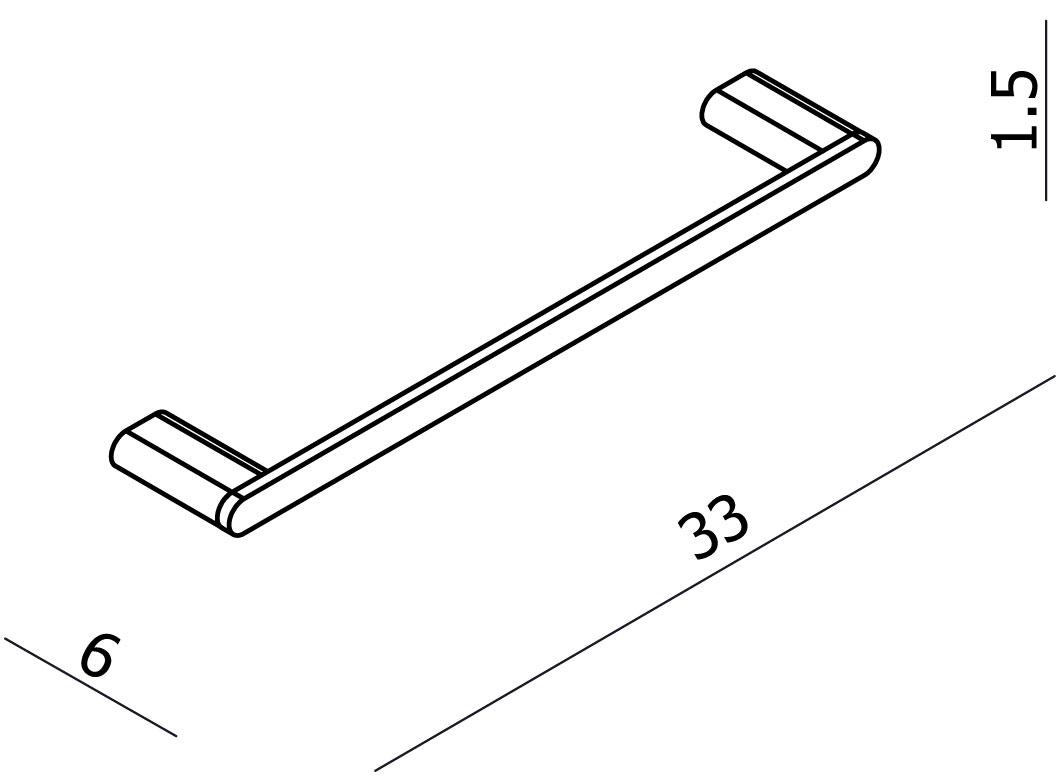 Loft Hand Towel Rail