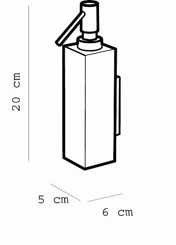 Metric Liquid Soap Dispenser