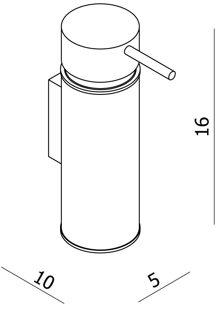 Universal Liquid Soap Dispenser