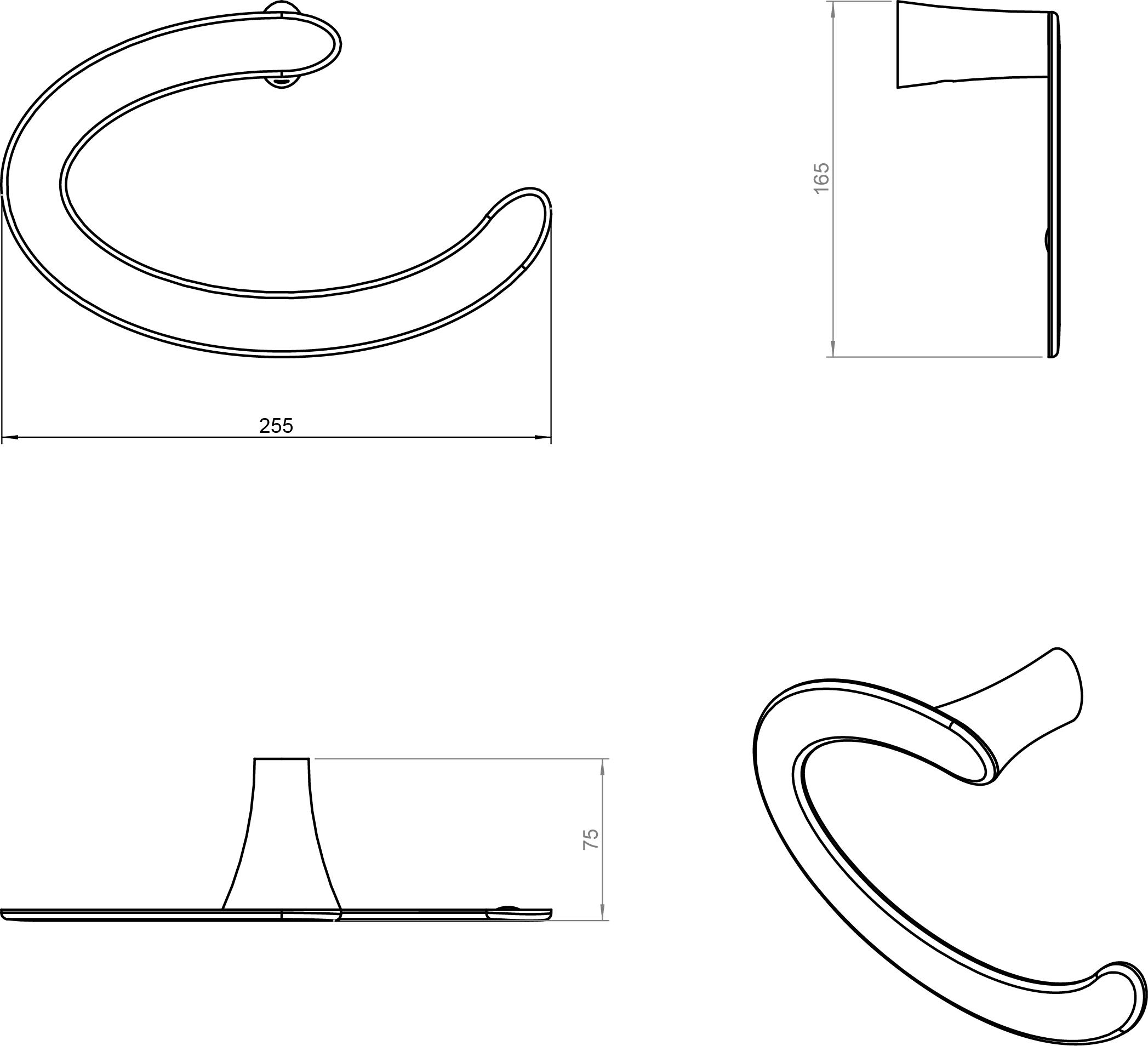 Belle Towel Ring