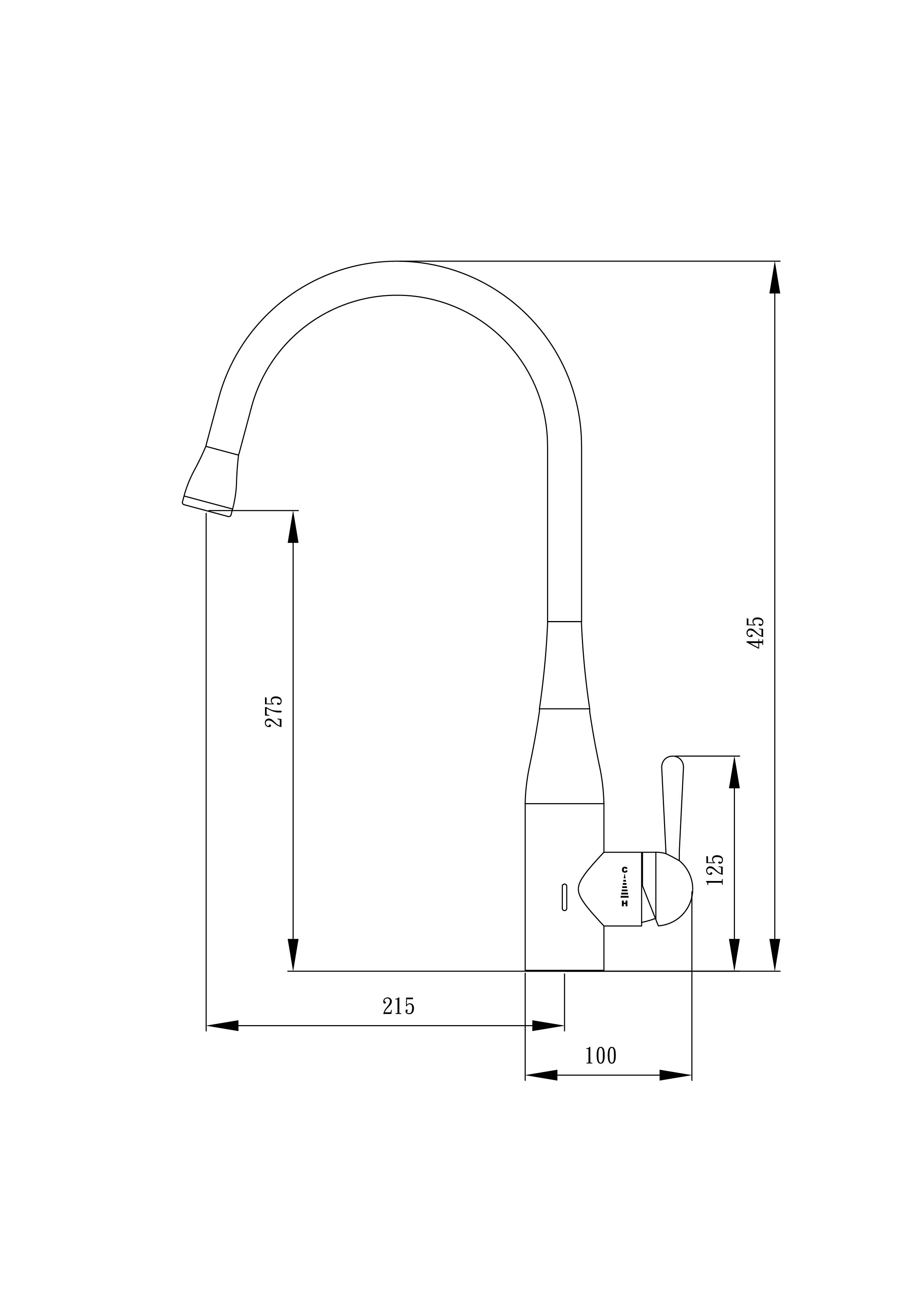 Aqualogic Ozone Kitchen Mixer