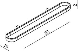 Evoke Multi-Function Rail 600