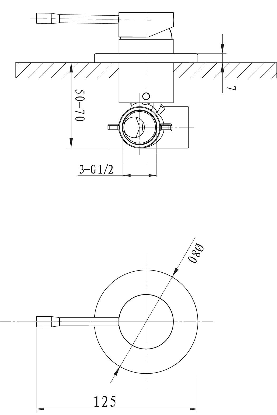 Flow Shower Mixer