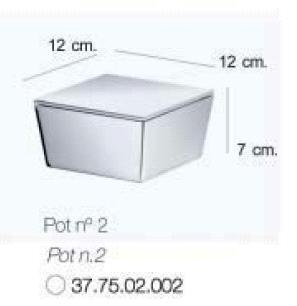 Iside Freestanding Storage Pot No. 2