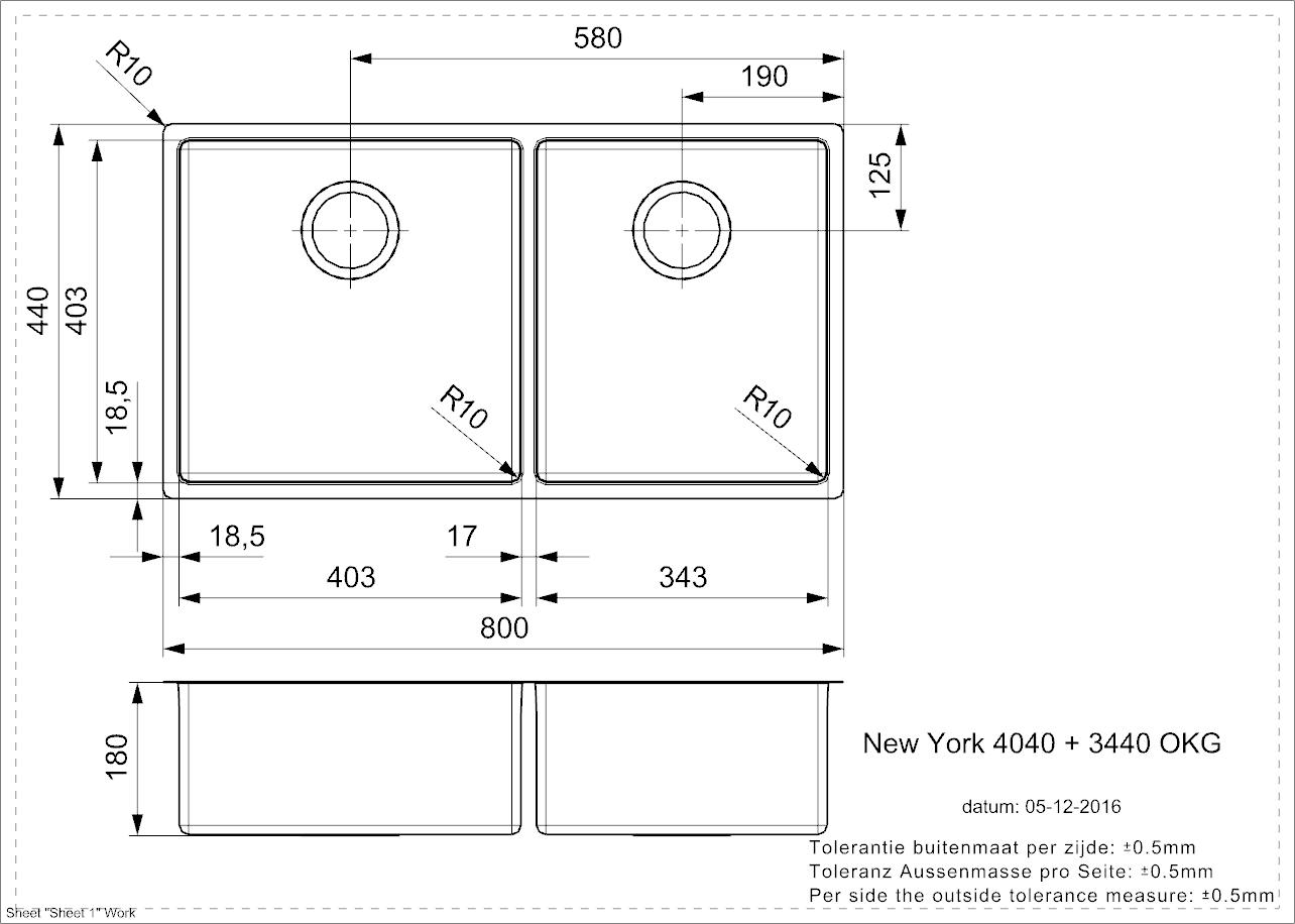Regal Maxi Main & 3/4 Bowls