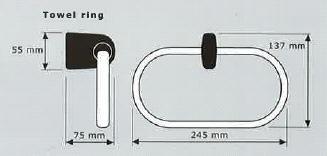 Mondrian Towel Ring