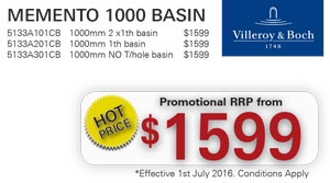 V&B Memento 1000 Basin PRRP