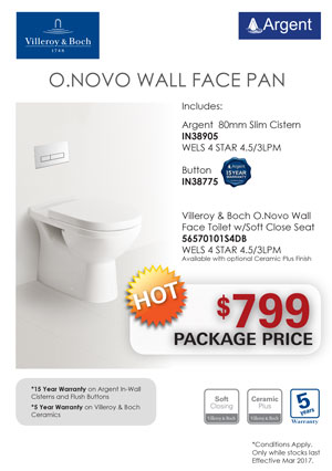 V&B O.NOVO WF Toilet PRRP