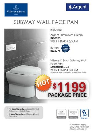 V&B SUBWAY WF Toilet PRRP