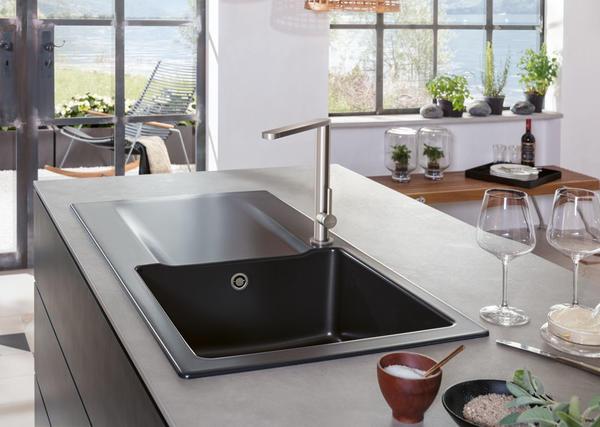 Villeroy & Boch Finera Kitchen Mixer & Ceramic Sink