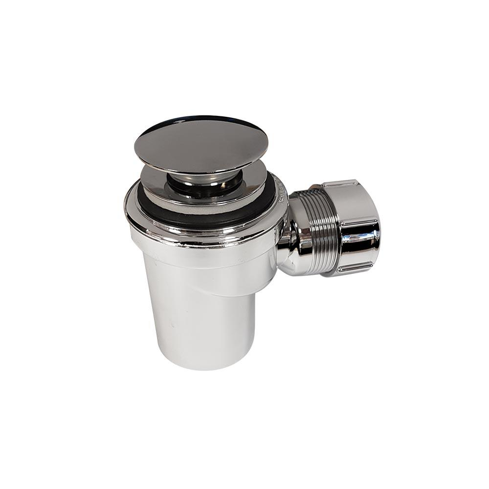 Micro Bottle P Trap With 32mm Pop Up Waste Argent Australia